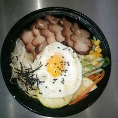 烤肉石锅拌饭