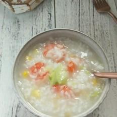 鲜虾玉米粥