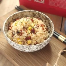 腊肠玉米香菇饭