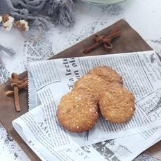 低脂燕麦小圆饼