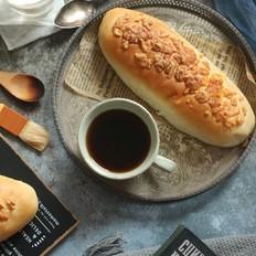 芋泥肉松面包