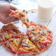 蔬菜牛肉粒披萨