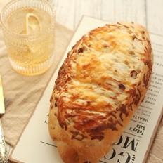 坚果起司面包的做法