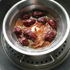 姜汁红枣炖蛋