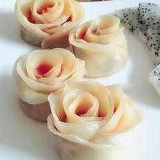 玫瑰花煎饺