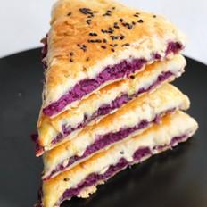 燕麦紫薯司康