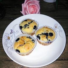 蓝莓爆浆蛋糕