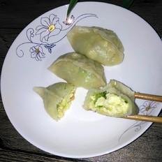 黄瓜鸡蛋水饺