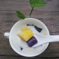 紫薯水果芋圆