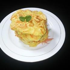 胡萝卜丝蛋饼