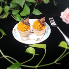南瓜女巫婆帽子蛋糕