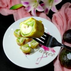 霸王超市丨香蕉牛油果土司卷