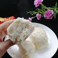 美味管饱不升糖的奶香燕麦馒头