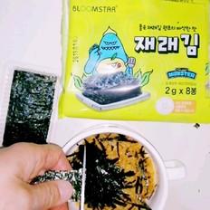 海苔肉松蛋糕杯