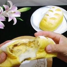 红薯麻薯软欧包