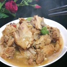 砂锅炖鸡块