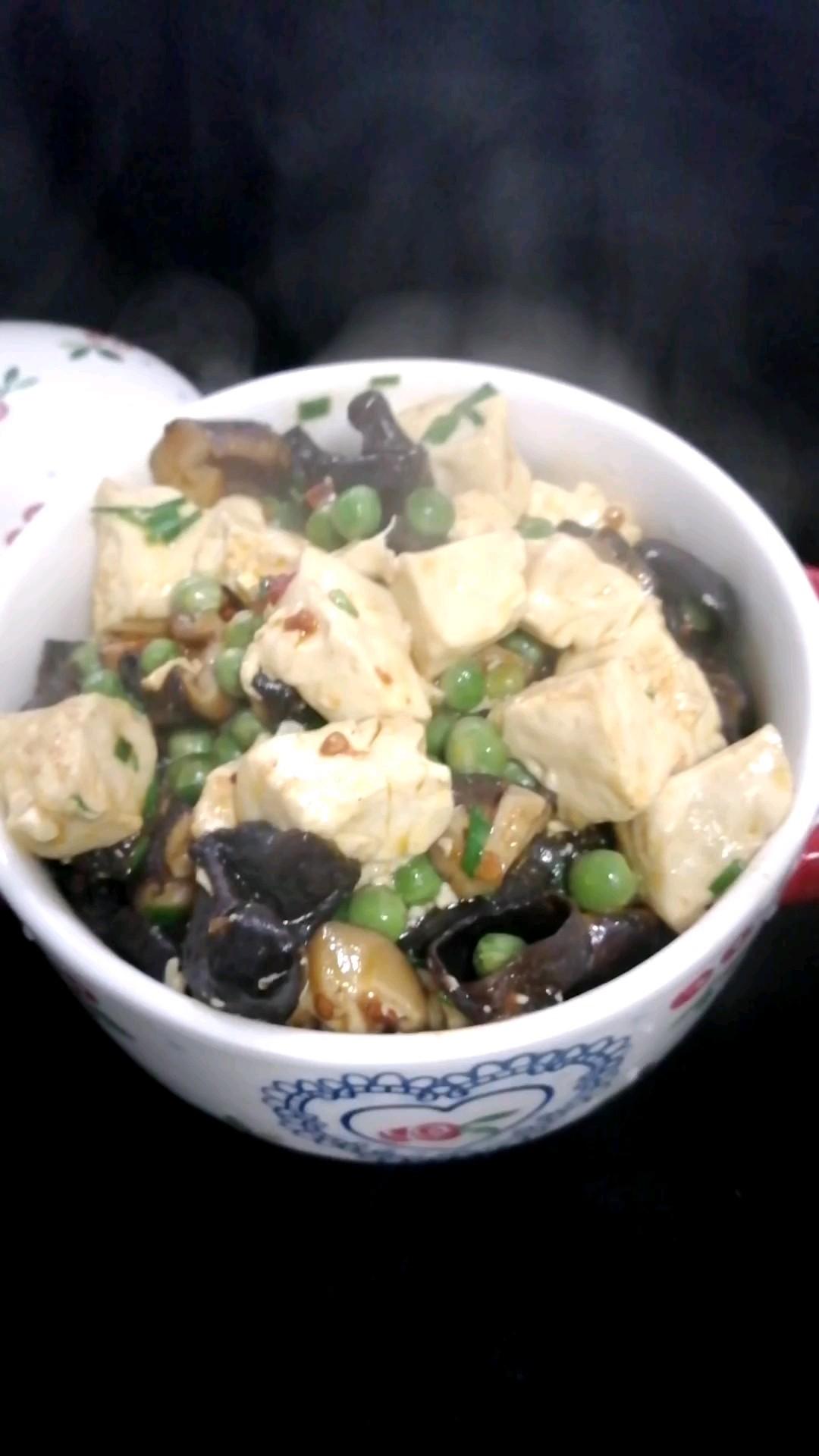 三鲜豆腐烩