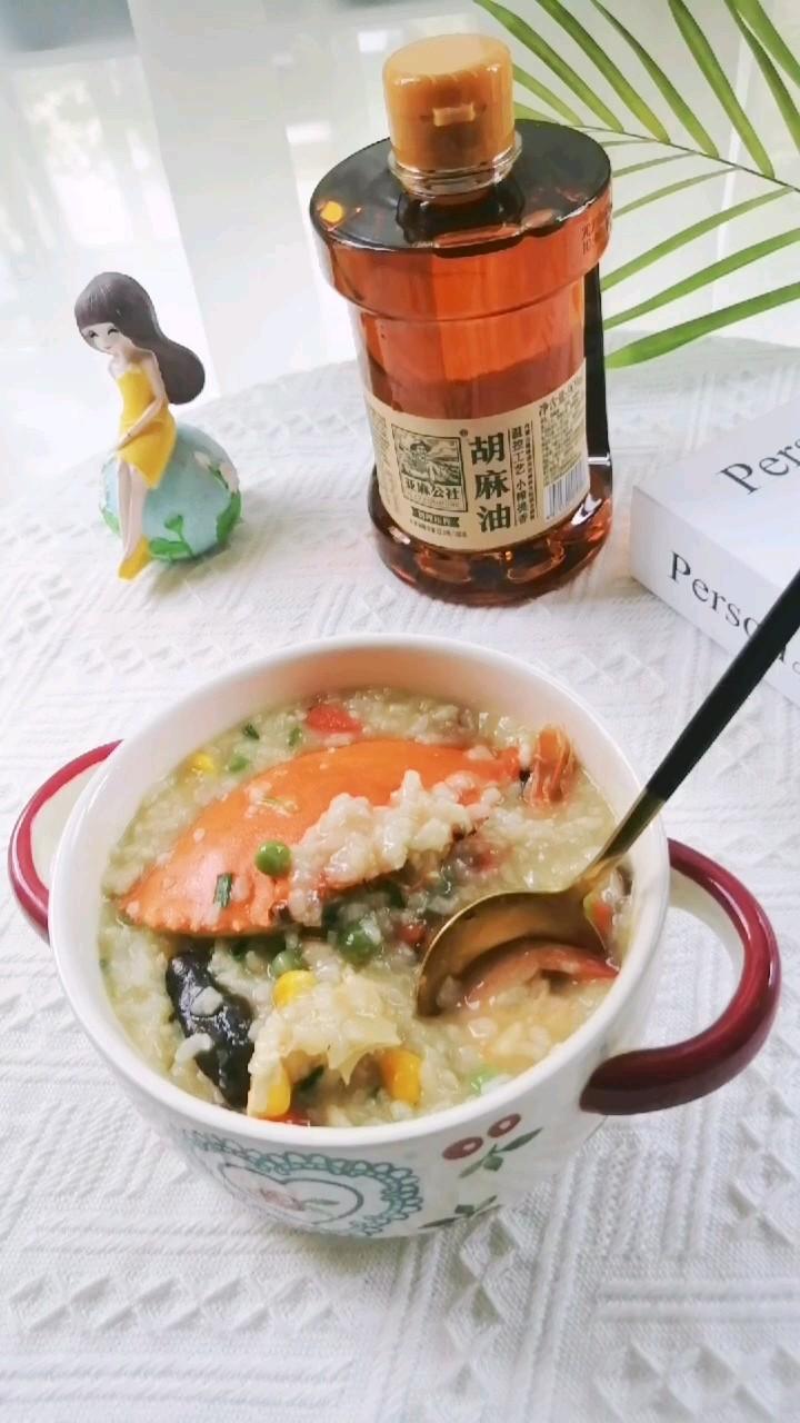 咸香美味海鲜粥的做法