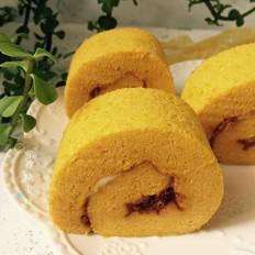 南瓜肉松蛋糕卷
