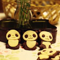 超Q超可爱的小熊猫饼干