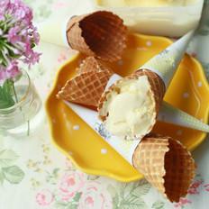 夏之清凉-蛋筒冰淇淋