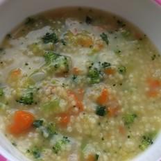宝宝蔬菜小米粥