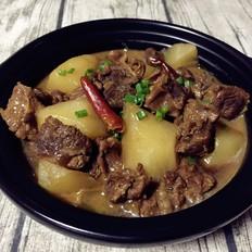 萝卜牛腩煲肉肉厨
