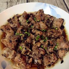 豆豉蒸排骨肉肉厨