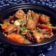 胡萝卜羊肉煲肉肉厨