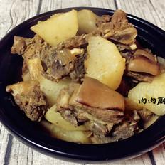 白萝卜羊肉煲肉肉厨
