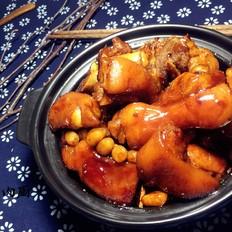 花生焖猪蹄肉肉厨