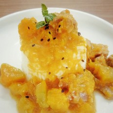 南瓜咖喱饭