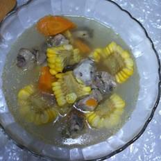 玉米胡萝卜炖排骨