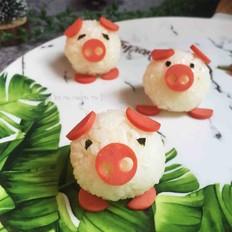 萌猪猪小饭团