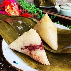 红豆蜜枣粽
