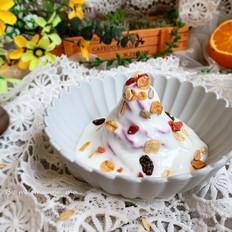 紫薯酸奶塔