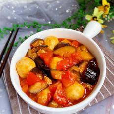 双茄烩鱼丸