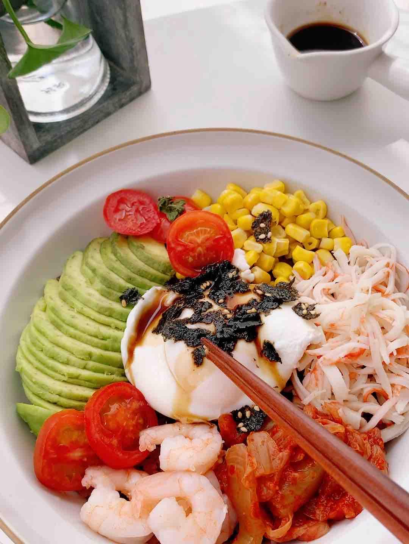 低脂低卡‼️网红海鲜波奇饭的做法