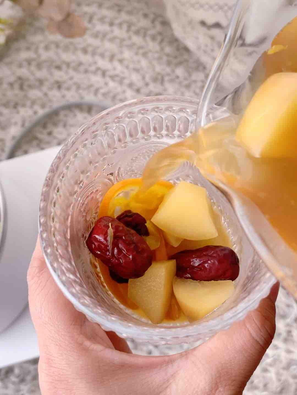 巨刷脂的苹果香橙水果茶的做法