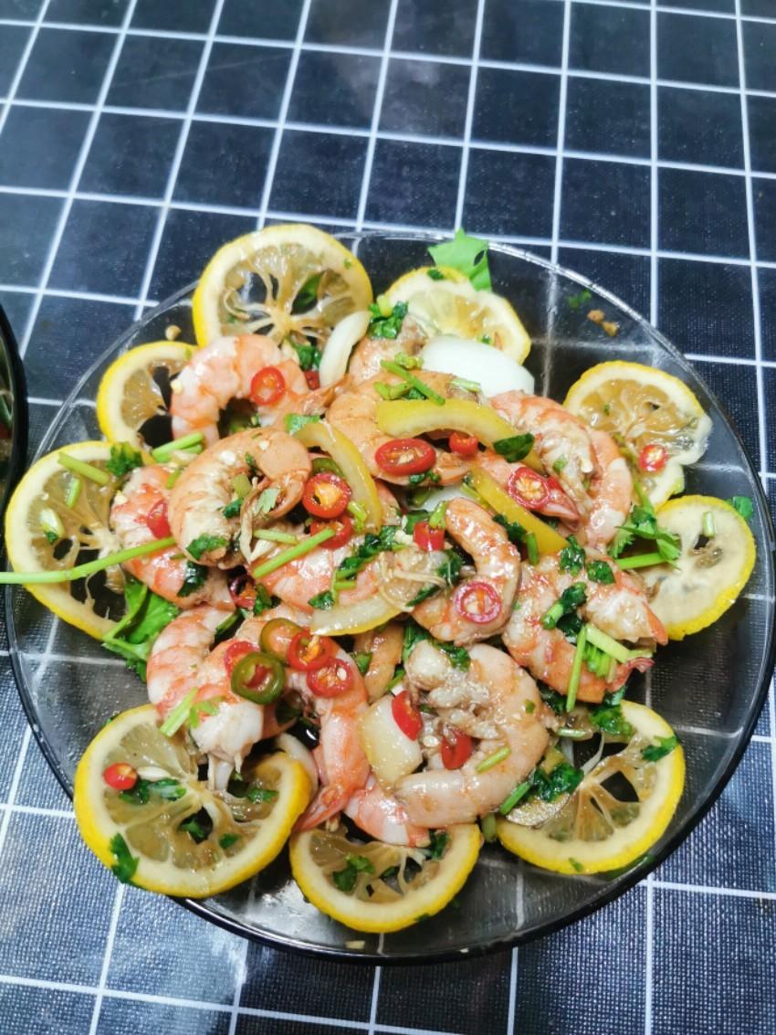 泰式柠檬虾