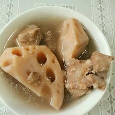 尾脊骨藕汤