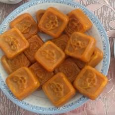 红豆沙馅南瓜饼