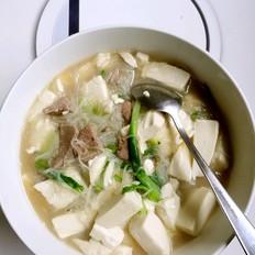 豆腐猪肝汤