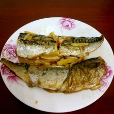 煎挪威鲐鲅鱼片