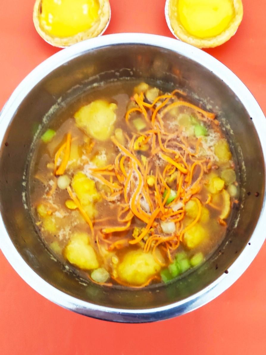 新鲜虫草花鸡汤