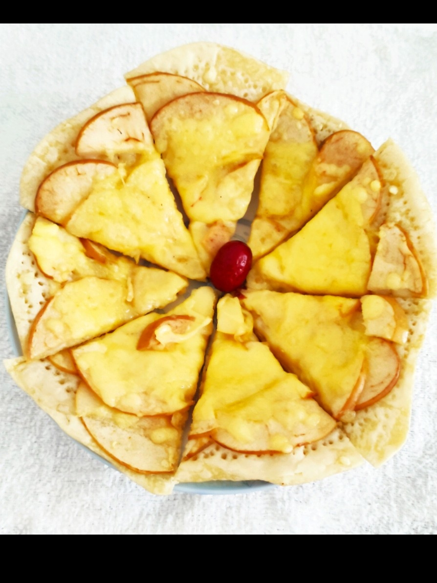 苹果披萨(电饼铛版)