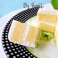 香草朗姆慕斯蛋糕的做法