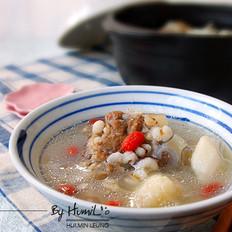 淮山薏仁猪骨汤