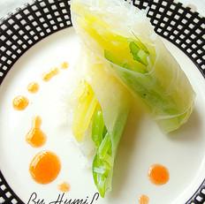 越式米纸卷(素春卷)