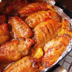 菠萝烤鸡翅
